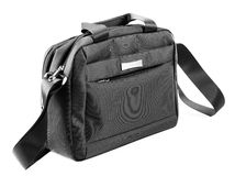 Laptop bag isolated on a white Royalty Free Stock Photography