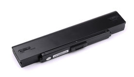 Laptop battery Royalty Free Stock Images