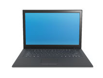 Laptop black Stock Photos