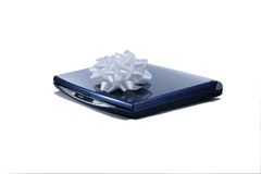 Laptop with Bow Stock Images