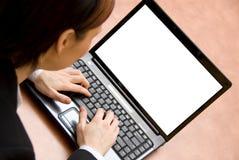Laptop business Stock Photos