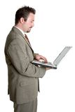 Laptop Business Man Stock Photos