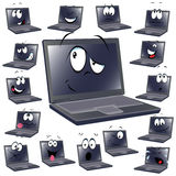 Laptop cartoon Stock Photo