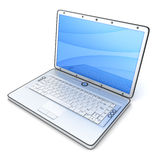 Laptop CGI Royalty Free Stock Photo