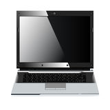 Laptop clean screen Royalty Free Stock Photos