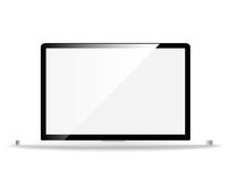 Laptop clean screen Stock Photography