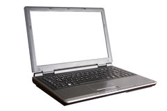 Laptop with clipping path Royalty Free Stock Photo