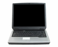 Laptop-clipping path Royalty Free Stock Photo