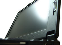 Laptop Close-Up. Opened Laptop Close-up stock photo