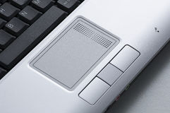 Laptop Close-up Royalty-vrije Stock Afbeelding