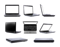 Laptop collection Royalty Free Stock Image