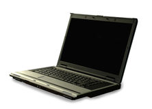 Laptop Computer. Laptop PC on white background Stock Images