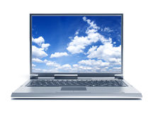Laptop-Computer Stockbild