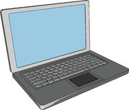 Laptop computer royalty free illustration