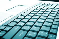 Laptop a computer Stock Images