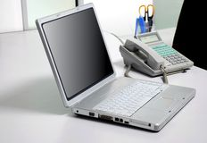 Laptop computer Stock Photos