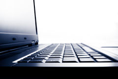 Laptop computer closeup Royalty Free Stock Photo