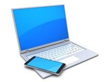 laptop computer Royalty Free Stock Photos