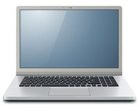Laptop computer 3D Royalty Free Stock Images