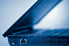 Laptop computer detail Royalty Free Stock Images