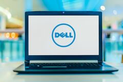 Free Laptop Computer Displaying Logo Of Dell Royalty Free Stock Photo - 172271225