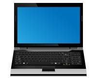 Laptop computer  format. Royalty Free Stock Photos