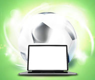 Laptop Computer Graphic. Graphic illustration image stock illustration