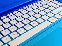 Laptop computer keyboard Royalty Free Stock Photo