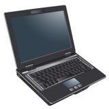 Laptop computer, notitieboekje Royalty-vrije Stock Afbeeldingen