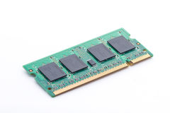 Laptop computer RAM chip Stock Images