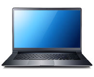 Laptop. Computer, realistic vector illustration Royalty Free Stock Images
