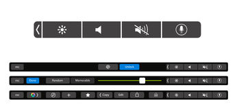 Laptop, conceito do vetor Portátil Tecnologia nova Foto de Stock