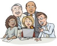 Laptop Consultation Stock Image