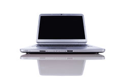 Laptop with copy space screen Royalty Free Stock Photography