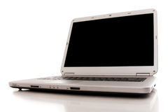 Laptop with copy space screen Royalty Free Stock Photo