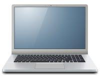Laptop 3D computer Royalty-vrije Stock Afbeeldingen