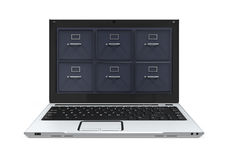 Laptop Data Storage Stock Images