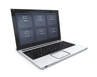 Laptop Data Storage Royalty Free Stock Image
