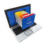 Laptop Data Storage Stock Photos
