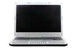 Laptop des breiten Bildschirms Stockfotografie