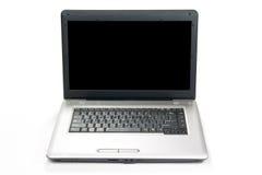 Laptop die op witte achtergrond wordt geïsoleerd Stock Fotografie