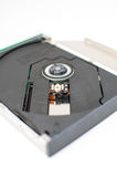 Laptop DVD tray close up Stock Photo