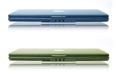laptop dwa Zdjęcie Stock