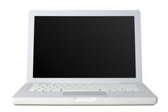 Laptop front Royalty Free Stock Photo