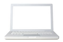 Laptop front Stock Image