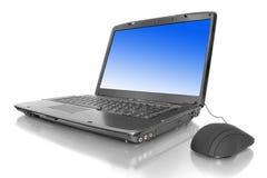 Laptop getrennt Lizenzfreies Stockbild