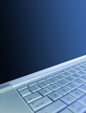 Laptop-Hintergrund Stockfotografie