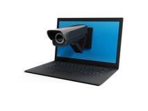 Laptop i kamera wideo Zdjęcie Royalty Free