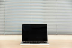 Laptop i stora Zdjęcia Royalty Free