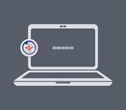 Laptop icon Royalty Free Stock Photo
